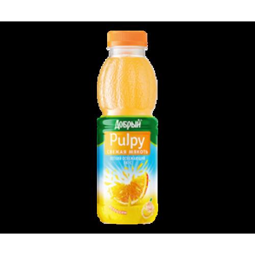Pulpy (апельсиновый) 0,45 л.